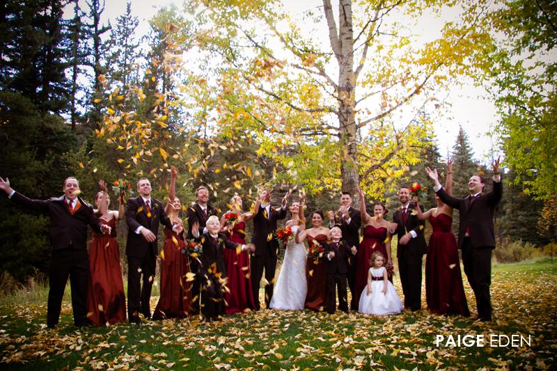 Fall Wedding | Distinctive Mountain Events