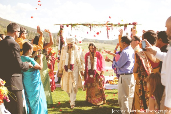 Maharani weddings distinctive mountain events indian wedding ceremony celebration bride and groom red junglespirit Images