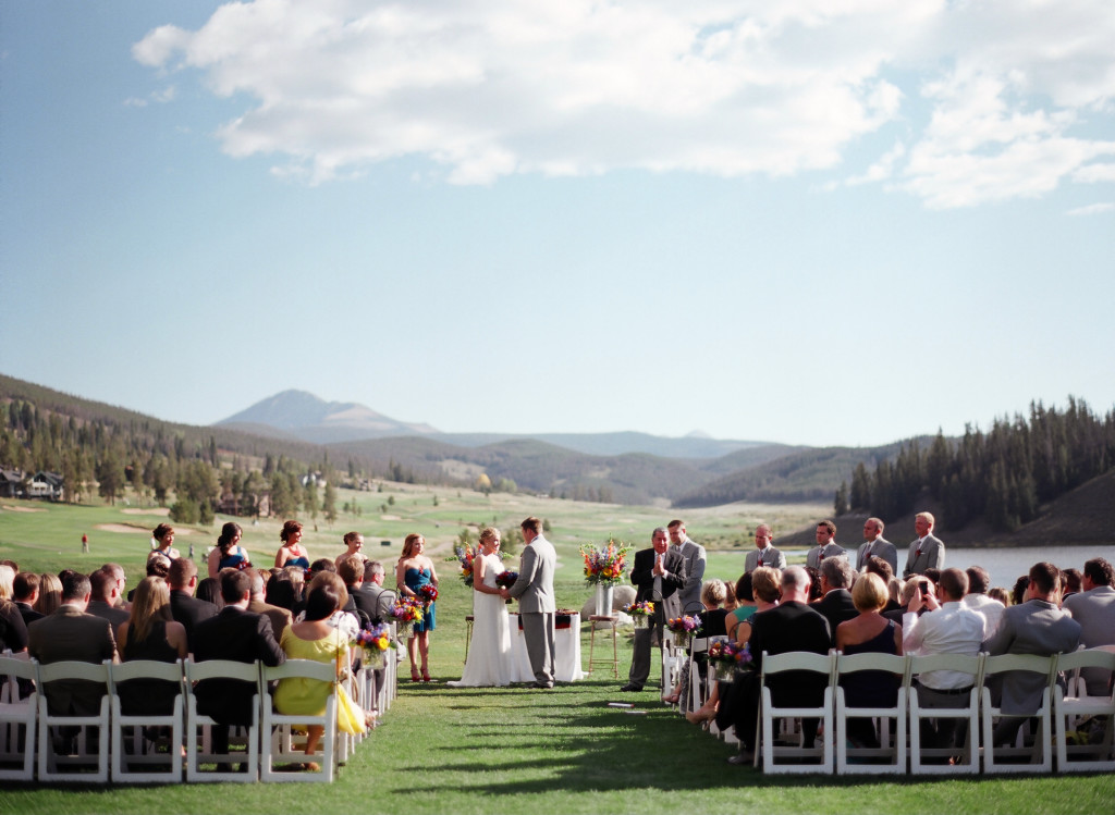 Beautiful Venue At Keystone Ranch In Colorado Natalie And Travis