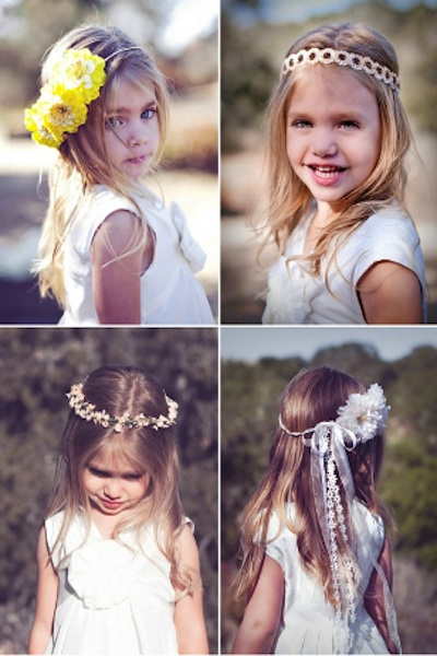 picture of flower girls