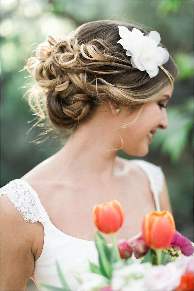 picture of wedding hair