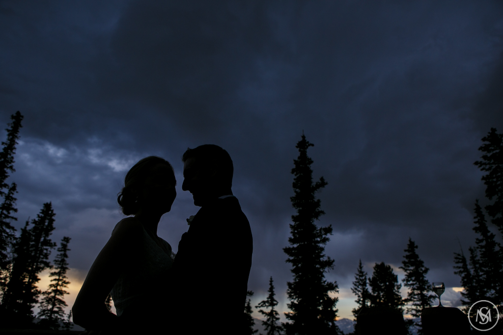 Mountain Wedding Couple
