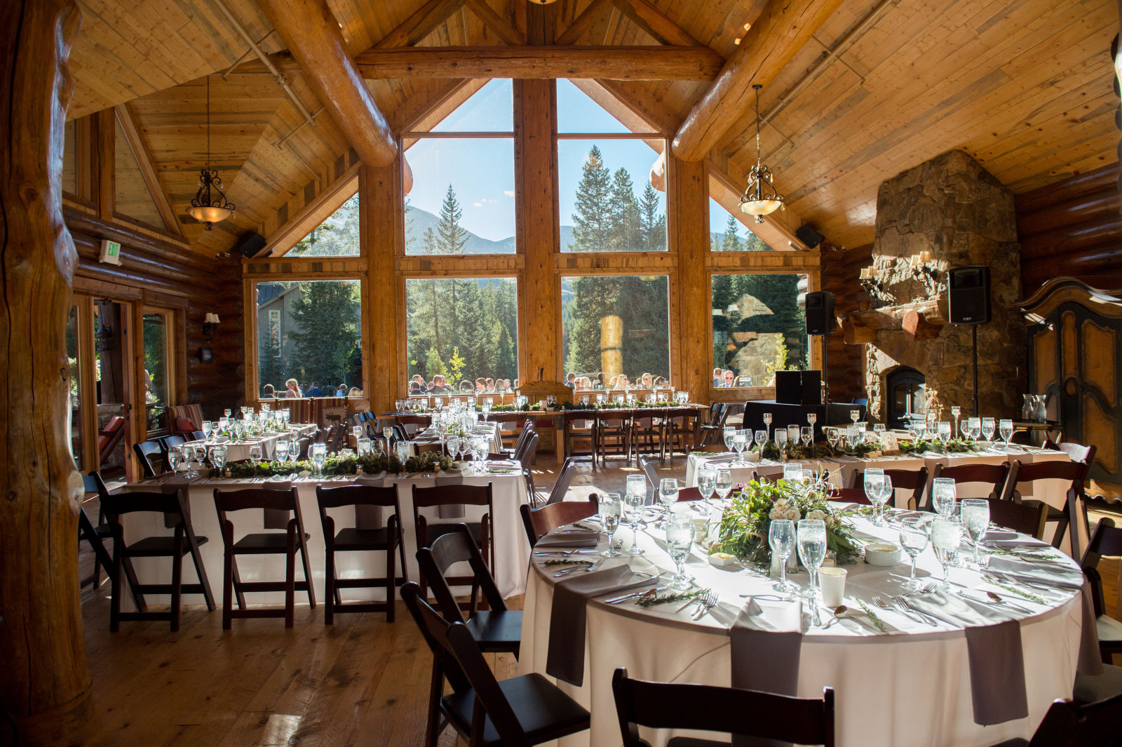 breckenridge nordic center wedding distinctive mountain