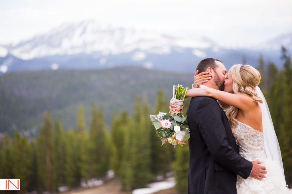 picture of a Colorado wedding
