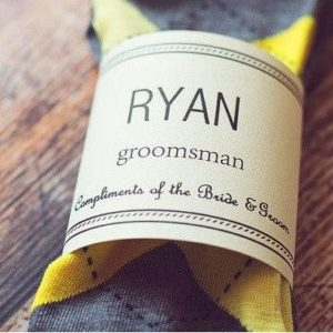 picture of a groomsmen's gift