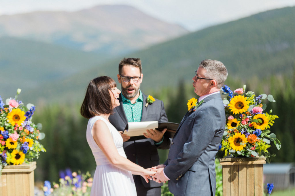 picture of a summer wedding