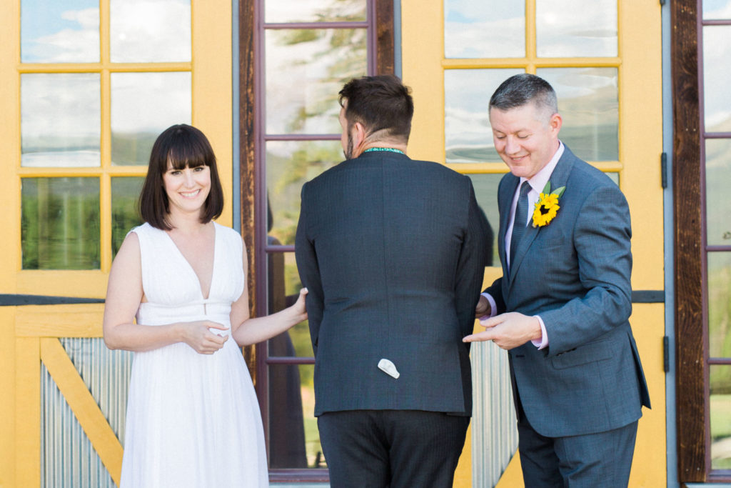 picture of a wedding