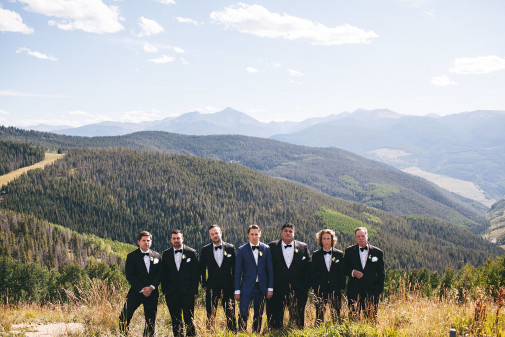 picture of a groom and his groomsmen