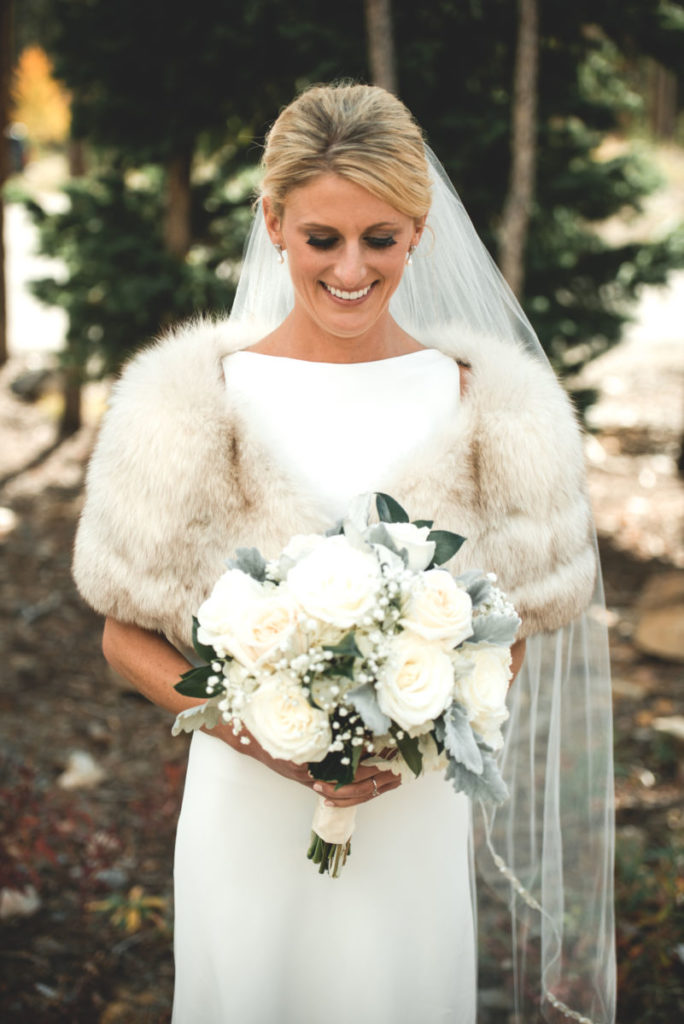 picture of a bride