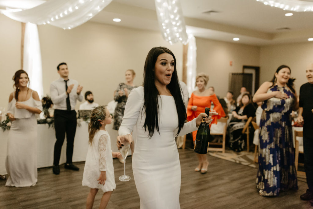picture of a wedding reception